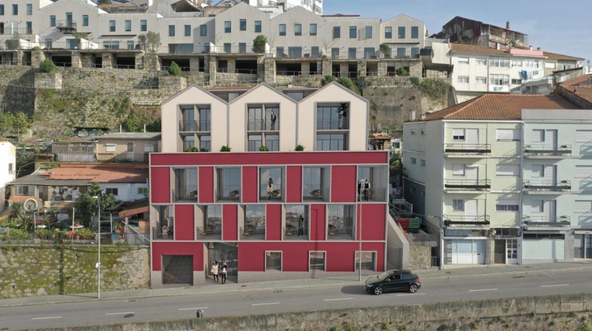 Riverport Douro Hotel will be born in the center of Gaia overlooking the Douro River